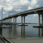 Vilano Beach Bridge from Beaches