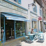 Charming Mersault and it's terrific boulangerie and patisserie.