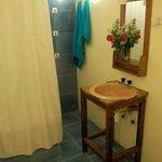 Baño privado de habitación doble