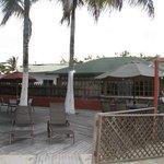 Deck & restaurant