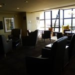The Club Lounge.