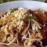 Squid Pad Thai. Yum! :)