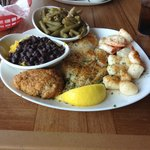 baked seafood combination - delish