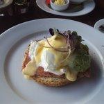 ham on toast breakfast