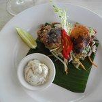 Soft-shelled crab