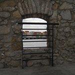 View of Punda thru for window