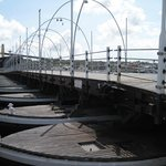 Bridge fully open