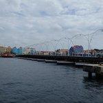Queen Emma Pontoon Bridge from Punda