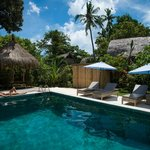 Relax at the Private Guest Pool