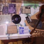 Wall display in music heritage room