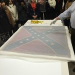 Recovered Confederate Flag