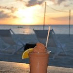 "Sundown smoothie at ""Jar"""
