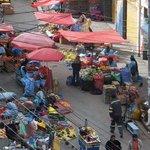 Streetmarket outside