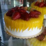 Wonderful cakes, tarts, cookies and a nice variety of breads and deserts.