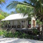 """Our """"duplex"""" cabana"""