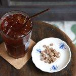 IN-THA-O-SOD Iced Tea(Iced tea mixed Traditional Thai herbal medicine)