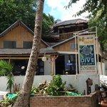 Excellent Dive Shop!  Next to Nagisa Japanese restaurant.