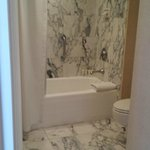 Nice marble bathroom
