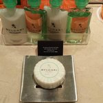 Complimentary Bvlgari products