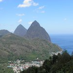 The Pitons (excursion photo)