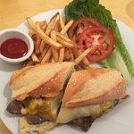 Philly Cheesesteak sandwich!