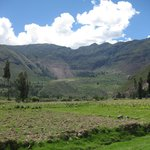 Driving through the Sacred Valley