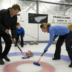Learn the art of curling.
