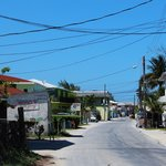 Streets of Bimini by golf cart