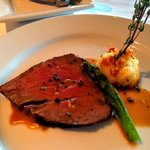 Filet Pommes Macaire, slow cooked to melt in your mouth
