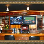 Enjoy your favorite sports team on one of our 3 large screen TVs.