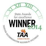 Deluxe Hotel Accommodation of the Year - 2014