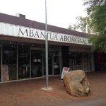 Make sure  you visit Mbantua Gallery in Alice Springs