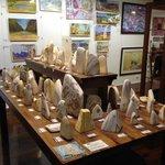 Zebra Stone Giftware. Mbantua Gallery Alice Springs.