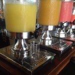 Petit déjeuner : les jus de fruits