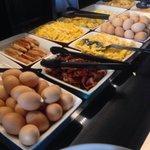 Petit déjeuner : buffet