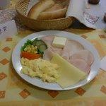 Czech style breakfast dish