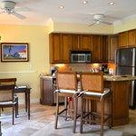 Pool Cottage kitchen