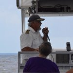 Capt Rod during our tour