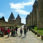 Charming, historic Carcassonne.