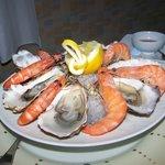 Outstanding appetizer at La Marquiere Restaurant.
