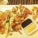 Lobster and Tiger Prawns Teppanyaki