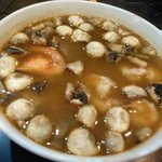 Tom yumm koon soup