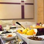 petit-déjeuner au restaurant ou en terrasse