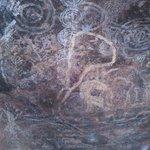 rock paintings at Uluru