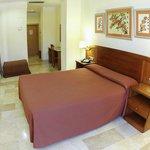 Habitación doble standar cama de matrimonio