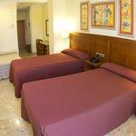 Habitación doble standar dos camas