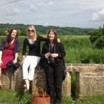 Time to stop for a rest on a gentle stroll around Lacock