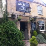 The George Inn - perfect lunch stop