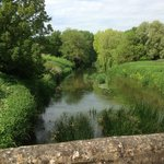 river view on walk around Lacock