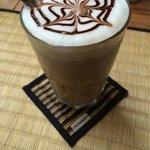 Iced latte!